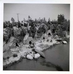"""yourland: """"The old American Indian Village. Indian Village, Vintage Disneyland, Old Disney, Never Grow Up, Disney Facts, Native Americans, Past, Old Things, Life"""
