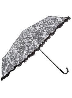 Dorothy Perkins  Black lace frill umbrella
