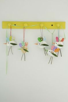 Cute bird craft