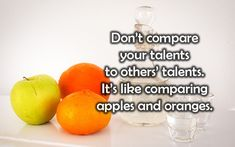 Light Qoutes, Dont Compare, Positive Thoughts, Thought Provoking, Positivity, Apple, Food, Apple Fruit, Essen