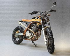 "megadeluxe: ""Yako's Bekano. (Via the Bike Shed). Blitz Motorcycles, Custom Motorcycles, Custom Bikes, Tracker Motorcycle, Scrambler Motorcycle, Suzuki Motocross, Moto Cafe, Cafe Bike, Dominator Scrambler"