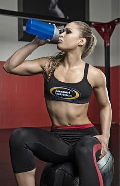 Ronda Rousey. Olympic Judo Medalist and current Strikeforce 135lb Champ!