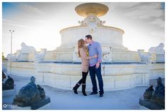 Awesomely Romantic Engagement on Belle Isle Detroit, MI: Lynette + Dylan — Courtney Carolyn Photography