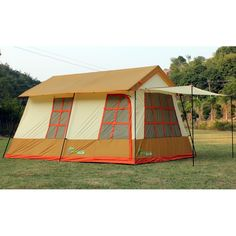 Barraca de camping mansão 10 pessoas Adventure Brasil - ADV-1001 Marrom