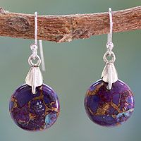 Sterling silver dangle earrings, 'Moon of Enigma' from @NOVICA, They help #artisans succeed worldwide. $34