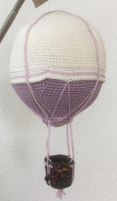 For a very special baby #hækleriertilbabyværelset #crochet #ballon #balloon #økobomuld #KroezeDezign #gaverernogetmanlaver May 2017