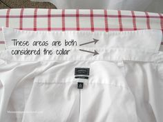 How to Iron a Dress Shirt Like a Professional – Maintaining Motherhood Dry Cleaning Business, Iron Shirt, How To Iron Clothes, Steam Iron, Extra Fabric, White Shirts, Collar Shirts, Dress Shirt, Cleaning Hacks