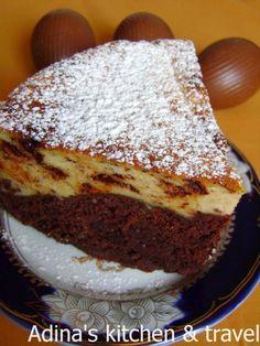 Romanian Food, Romanian Recipes, Different Cakes, Cake With Cream Cheese, Gordon Ramsay, Food Cakes, Pie Recipes, Nutella, Banana Bread