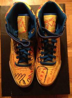REEBOK Ex-O-Fit Plus Hi Basquiat SNEAKERS #Reebok