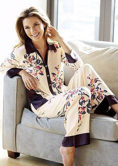 Silk Lingerie - Luxury Silk Underwear & Sleepwear for Women Silk Sleepwear, Silk Pajamas, Sleepwear Women, Pajamas Women, Nightwear, Pyjamas, Silk Underwear, Womens Pyjama Sets, Satin Pyjama Set