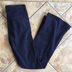 J Brand for Barneys CoOp Navy flared Pants J brand for Barneys co OP navy blue flared jeans ( they are NAVY pants, not jeans color) J Brand Jeans Flare & Wide Leg