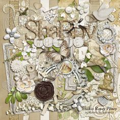 Shabby White By Rosey Posey
