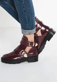 River Island RUDY - Ankle Boot - red dark - Zalando.de