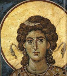 Фотографии на стене сообщества   ВКонтакте Fresco, Byzantine Art, Byzantine Icons, Religious Icons, Religious Art, Gabriel, Writing Icon, Order Of Angels, Religion Catolica