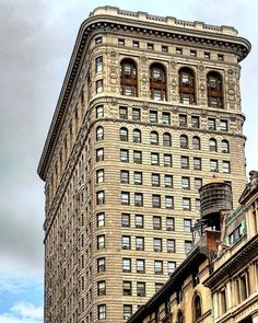 The south side of the #Flatiron_Building, #Manhattan.