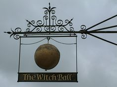 Witch Ball Pub sign, Thame, Oxon.