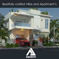 Beautifully crafted Villas for sale in Hyderabad. #Villas and #apartments #sale #Hyderabad http://www.aakritihousing.com/