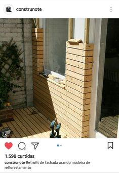 woodworking reforestedwood housefacade civilen civilen housefacade reforestedwood woodworking is part of Facade house - Woodworking Techniques, Woodworking Furniture, Woodworking Bench, Diy Furniture, Woodworking Projects, Woodworking Shop, Garden Furniture, Timber Cladding, Exterior Design