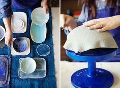 para hacer piezas de cerámica