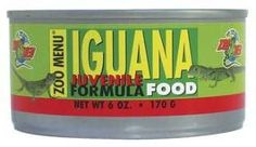 ZooMed Iguana Food Juvenile Can 6 oz.