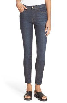19785239db82 FRAME  Le High Skinny  Jeans (Saltair) Denim Skinny Jeans