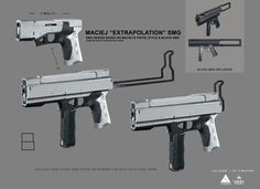 ArtStation - Ghost in the Shell - Props and Weapons, WETA WORKSHOP DESIGN STUDIO