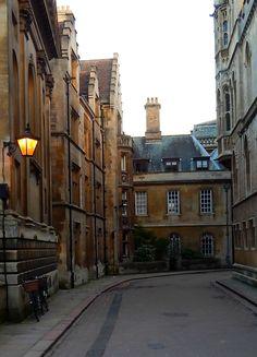 Trinity Lane, Cambridge, England