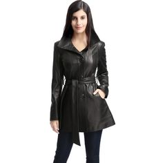 Winter Coats Women, Coats For Women, Clothes For Women, Designer Leather Jackets, Faux Leather Jackets, Plus Size Coats, Lambskin Leather, Pattern Fashion, Timeless Fashion