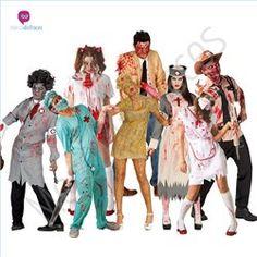 #Disfraces divertidos #Zombies para grupos #Mercadisfraces tu #tienda de #disfraces online donde podrás comprar tus disfraces #baratos y #originales para tus fiestas de #carnaval. Amplio stock en tallas para #grupos y #comparsas.