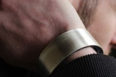 Items similar to Silver cuff bracelet with Felt Gift for Men's for him bracelet Cuff Bracelet silver Felt on Etsy Handmade Bracelets, Cuff Bracelets, Silver Cuff, Sterling Silver, Felt Gifts, Rings For Men, Etsy, Jewelry, Men Rings