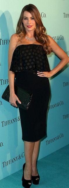 Sofía Vergara in Jewelry – Tiffany and Co. Dress – Cushnie Et Ochs Shoes –  Christian Louboutin 789b6f2c8
