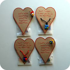 Origional use: Make this: LEGO accessory valentine  My use????  NO idea yet, but the sayings are great!  #LegoDuploParty