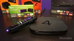 The new Roku 4 set-top box supports 4K video streaming.