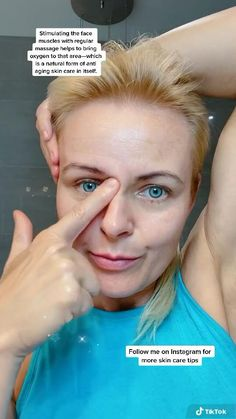 Face Yoga Exercises, Facial Yoga, Beauty Tips For Glowing Skin, Face Massage, Face Skin Care, Tips Belleza, Skin Care Tips, Healthy Skin, Face Oil