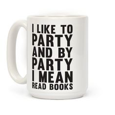 Good books are far more entertaining than parties.