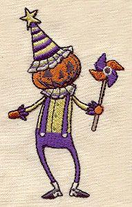 "Embroidery Designs at Urban Threads - Pumpkin Head (#UT2656) 2.32""w x 3.85""h 02 October 2011"