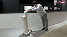 Murata Manufacturing Develops a Self-Balancing Walker for Seniors #seniors #tech trendhunter.com