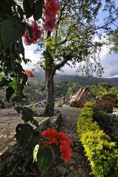 Bena Village in Flores Island, Indonesia