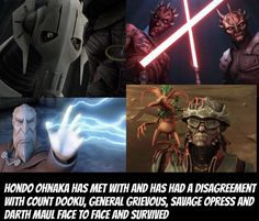 Have you accepted Hondo Ohnaka as your lord and saviour? Star Wars Jokes, Star Wars Facts, Star Wars Comics, Star Wars Rebels, Star Wars Clone Wars, Hondo Ohnaka, Lord, Star Wars Pictures, Pokemon