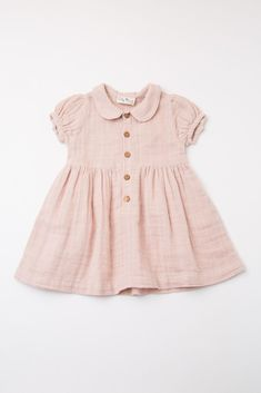 Light pink baby dress with collar and button placket things for kids dress # Baby Girl Dresses baby button collar dress kids Light pink placket Baby Outfits, Baby Girl Dresses, Kids Outfits, Vintage Baby Dresses, Smocked Baby Dresses, Dress Girl, Toddler Outfits, Baby Girl Fashion, Fashion Kids
