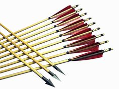Traditional Archery Handmade Wood Hunting Arrows For Longbow&Recurve bows Archery Shop, Archery Tips, Traditional Recurve Bow, Traditional Archery, Hunting Arrows, Bow Hunting, Archery Hunting, Hunting Gear, Archery Supplies