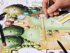 Ландшафтный дизайн садового участка проект своими руками фото, видео Домчик.ком