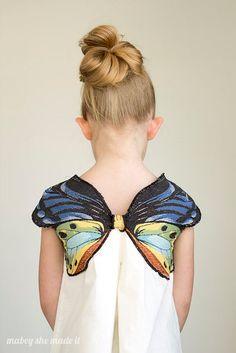 Платье с крылышками для девочки. Мастер-класс / Только машины