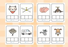 Twinkl Resources >> CVC Words Phoneme Frames >> Printable resources for Primary, EYFS, KS1 and SEN.  Thousands of classroom displays and teaching aids! CVC Words, Literacy, English, Phonemes, Writing Frames