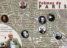 Paris, balade en poèmes