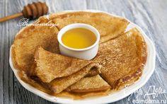 Блины на кипятке | Кулинарные рецепты от «Едим дома!»