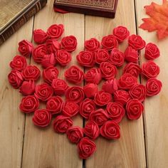 50pcs 2.5cm Artificial Roses PE Foam Simulation Rose Flower Flowers Wedding Party Home Decoration Perfect for decorating your weddings, parties and home, give you a romantic atmosphere Specification: