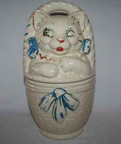 You haven't really had a cookie until you've had one from this terrifying cookie jar that my grandma had. And now I have. Thanks, Grandma.