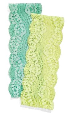 Pretty lace head wraps in #mint http://rstyle.me/n/iwzydnyg6