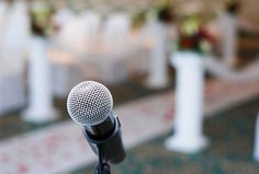 Ensure your reception goes off without a hitch by forwarding these tips to your master of ceremonies.
